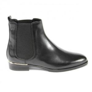 Chelsea-Boots Leder-Halbgummisohle Übergröße 474-24