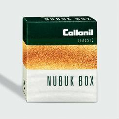 Nubuk Box Classic Trockenreiniger Moosgummi Kreppauflage