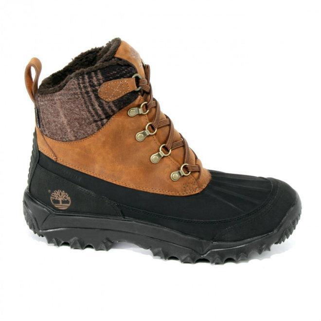 Timberland Stiefel in Übergrößen 167-24 Ölsportleder Warmfutter