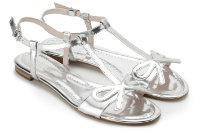 HORSCH Exklusiv Sandale Leder Metallic-Look Übergröße 402-16