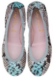 Animal Print Schuhe Pretty Ballerinas Übergröße 591-16
