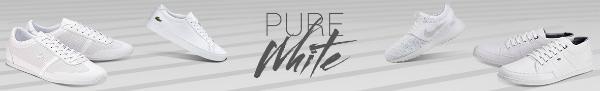 Pure White Sneaker
