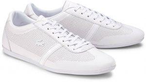 Sneaker in Pure White Lacoste Sneaker Übergröße 107-16