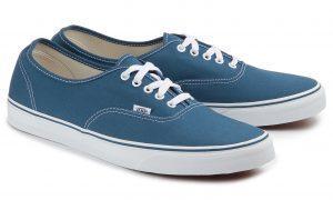 Vans Authentic Sneaker Übergröße petrol-blau 372-26