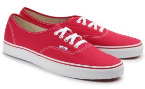 Vans Authentic Sneaker Übergröße rot 370-26