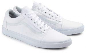 Vans Old Skool Sneaker Übergröße weiß 374-26