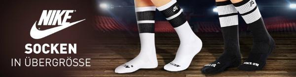 Nike Socken Übergröße