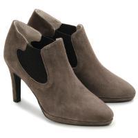 Bariello Ankle-Boots Wildleder-Qualität Plateau Untergröße 681-25