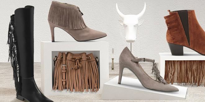 Schuhe im Boho-Stil