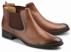 Gabor Chelsea-Boots Leder braun Damenschuhe Übergröße 800-26