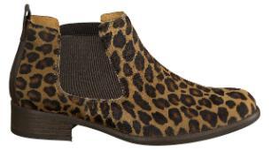 Gabor Chelsea-Boots Leo-Optik Damenschuhe Übergröße 634-25