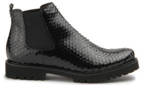 Rossaro Chelsea-Boot Stiefelette Snake-Look Damenschuhe Übergröße 528-26