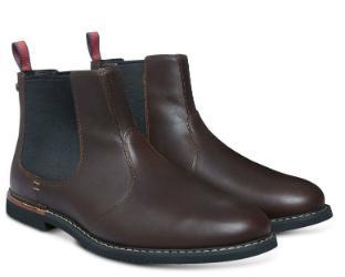 Timberland Chelsea-Boots Leder braun Herrenschuhe Übergröße 150-26