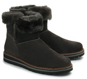 Gabor Lammfell-Boots Lammfell-Stiefelette Innenfutter Lammfell Übergröße 3021-17