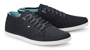 Boxfresh Streetwear-Sneaker Nylon Dunkelblau Übergröße 132-16