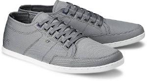 Boxfresh Streetwear-Sneaker Nylon Grau Übergröße 131-16