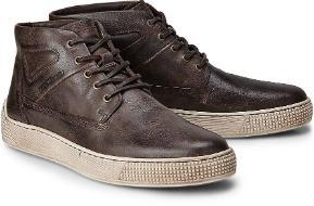 Camel Active Casual-Sneaker Leder Braun Übergröße 1026-26