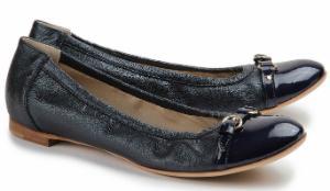 AGL Ballerina Blau Übergröße 831-15