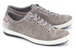 Legero Sneaker Veloursleder Grau G-Weite Übergröße 4800-17