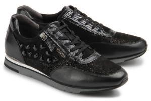 Gabor Sneaker Material-Mix Schwarz Uebergroesse 629-26 - Horsch ... 1a234e625b