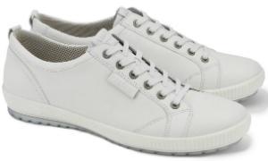 Legero Sneaker Textilfutter mit angenehmer Polsterung G-Weite Weiss Uebergroesse