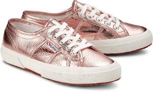 Superga Sneaker Uebergroesse Rose Metallic