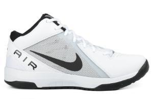 Nike Air Overplay Fischgraetenprofil atmungsaktiv Weiss Uebergroesse