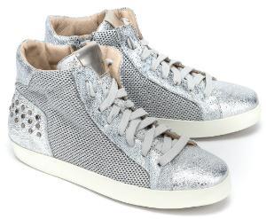 High Top Sneaker Silber Untergroesse