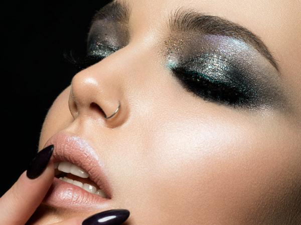 Make-up Silber