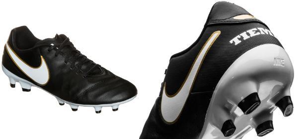 Nike Tiempo Genio Leather 2 Fussballschuh fuer normalen Rasen Uebergroesse