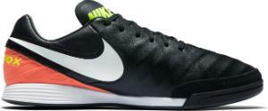 Nike TiempoX Mystic V IC Herren-Hallenfussballschuh Schwarz Orange Uebergroesse