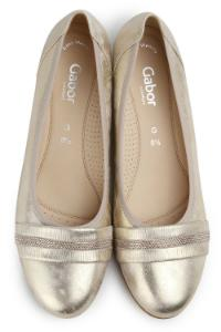 Gabor Pumps in G-Weite Metallic Uebergroesse