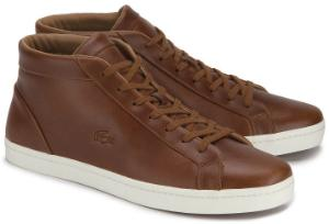 Braune High-top Sneaker von Lacoste in Uebergroessen