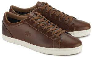 Braune Sneaker von Lacoste in Uebergroessen