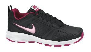 Nike Sneaker fuer Damen T-Lite in Uebergroesse Schwarz