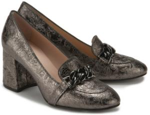 Trotteur Schuhe fuer Damen Metallic-Finish Bronze