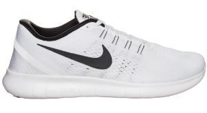 Weisse Laufschuhe in Sondergroesse Nike Free RN