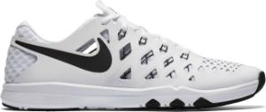Weisse Laufschuhe in Sondergroesse Nike Train Speed 4
