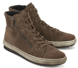 Gabor Sneaker in Uebergroessen Farbe Taupe