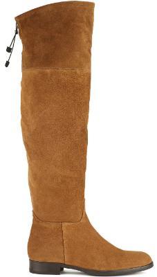 Overknee Stiefel in Uebergroessen Groesse 43 Braun Horsch Exklusiv