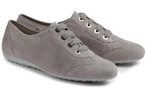 Semler Sneaker in Weite G mit Vario-Fussbett Uebergroessen Grau