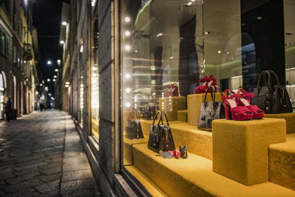 Einkaufsviertel in Mailand