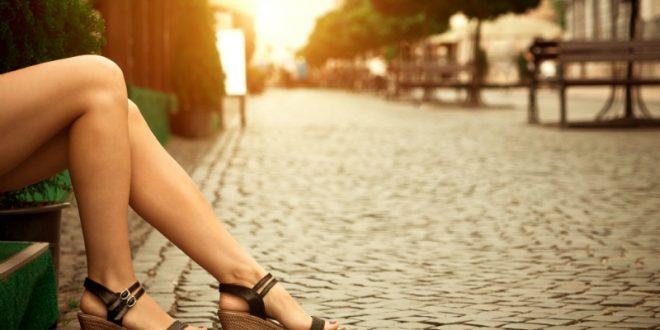Sandalen mit Absatz in Übergröße Horsch Schuhe Magazin