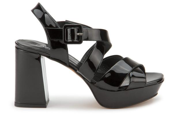 High-Heel Sandalette in Untergrößen: 2122-11
