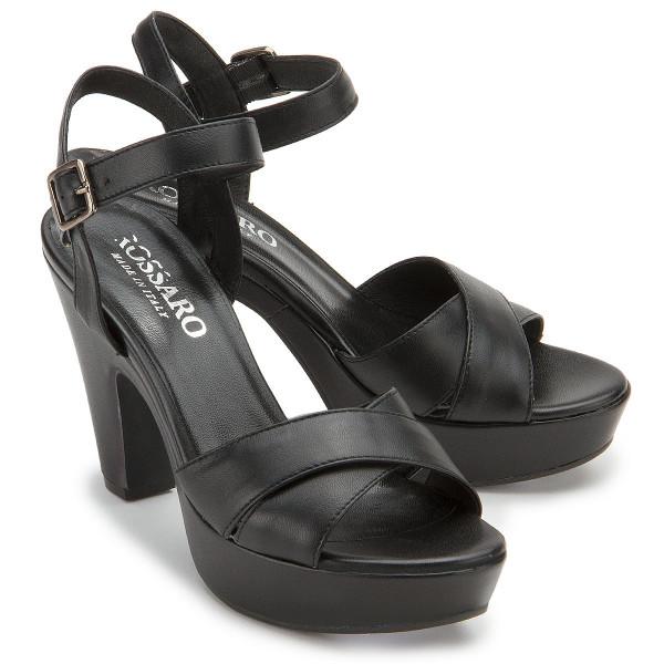 High-Heel Sandale in Untergrößen: 2641-11