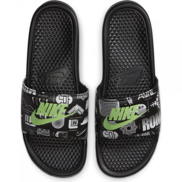 Nike Benassi JDI Print in Übergrößen: 9009-20