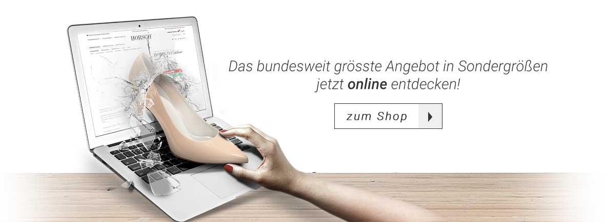 Schuhe Übergrößen & Untergrößen in Stuttgart | Horsch Shop
