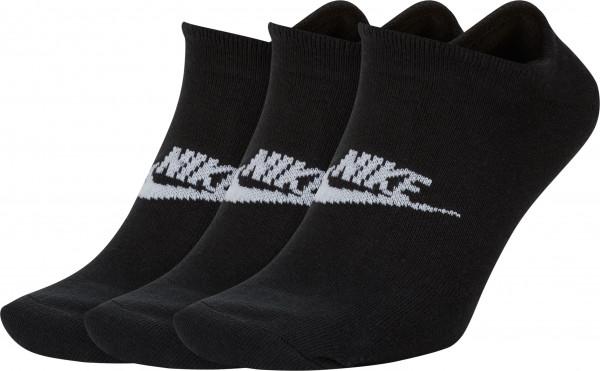 Nike-Socken 3er Pack Schwarz: 0711-29