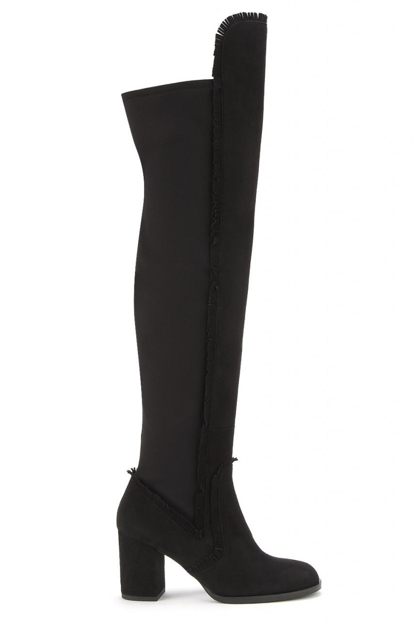 4ddf2470a8f4b Damen Overknee-Stiefel Übergrößen   HORSCH